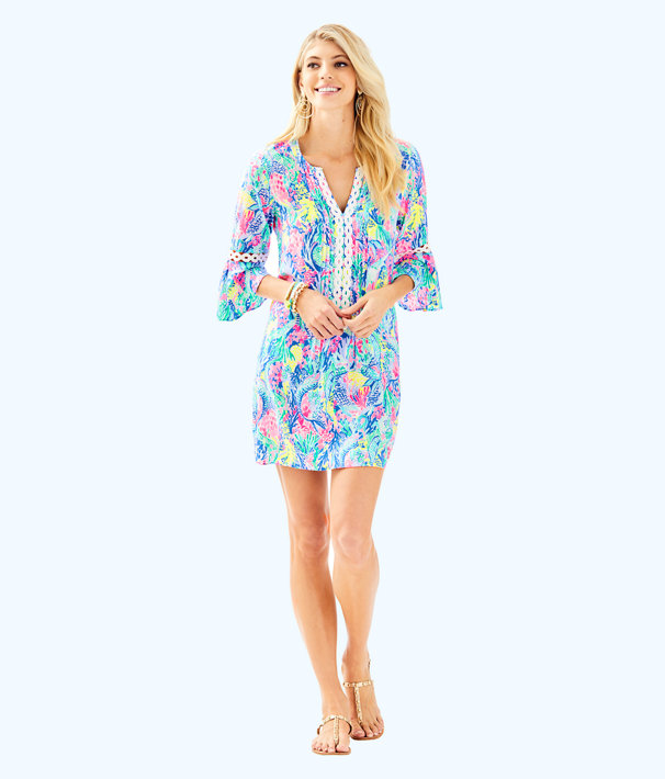Hollie Tunic Dress, Multi Mermaids Cove, large