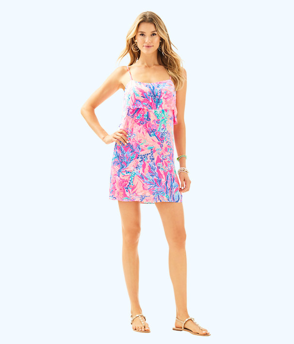 Lexi Dress, Light Pascha Pink Aquadesiac, large