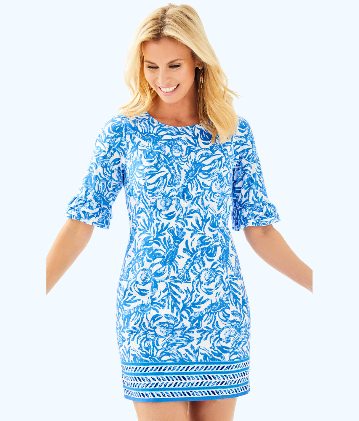 Lilly Pulitzer Lilly Pulitzer Womens Fiesta Stretch Dress