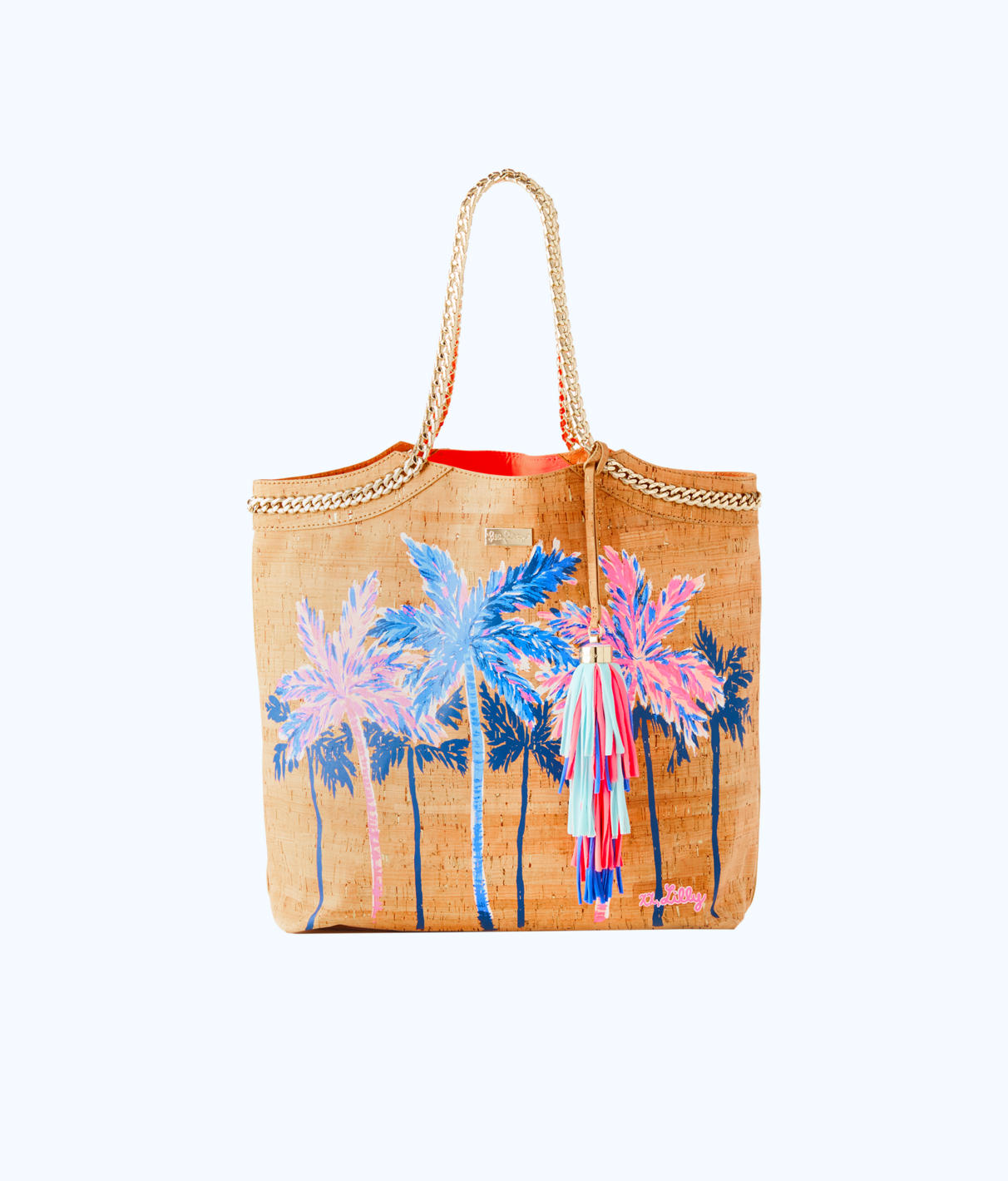 Lilly Pulitzer Lilly Pulitzer Printed Beach Comber Cork Tote