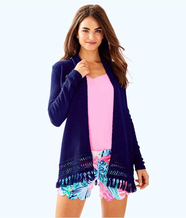 Juliette Cardigan, True Navy, large