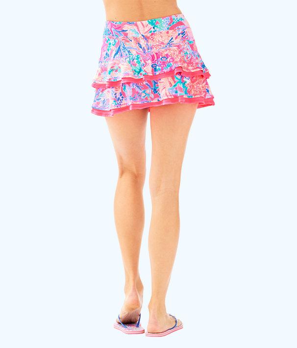 UPF 50+ Luxletic Meryl Nylon Zela Skort, Light Pascha Pink Aquadesiac Reduced, large