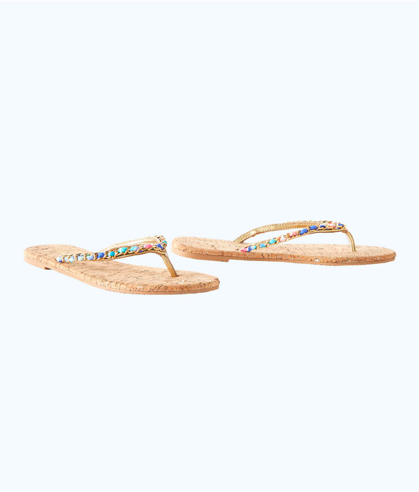 Naples Sandal, Natural, large
