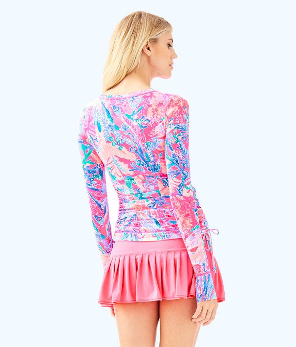 UPF 50+ Luxletic Meryl Nylon Weslee Convertible Sunguard, Light Pascha Pink Aquadesiac Reduced, large