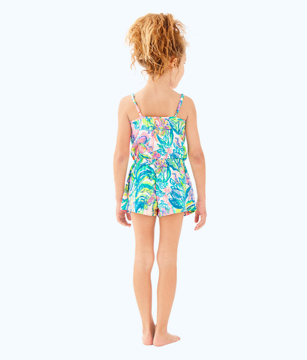 Girls Aleene Romper, Multi Surf Gypsea, large