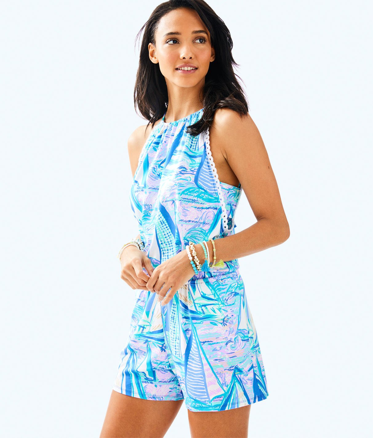 Lilly Pulitzer Lilly Pulitzer Womens Gianni Romper