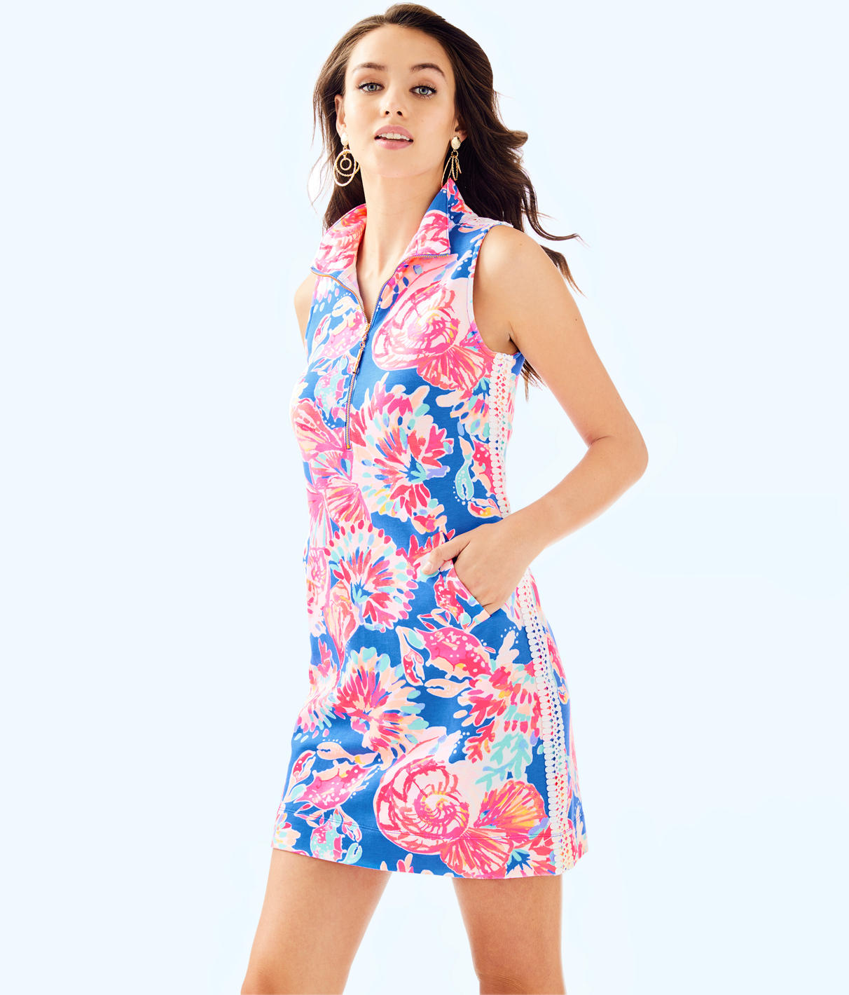 Lilly Pulitzer Lilly Pulitzer Womens Skipper Sleeveless Dress