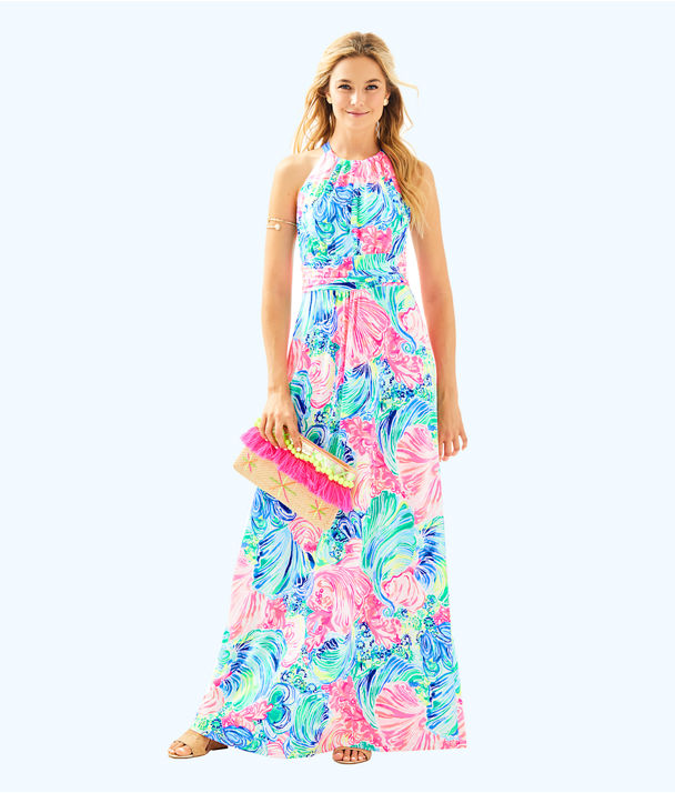 Martina Maxi Dress, Multi Beach Please, large