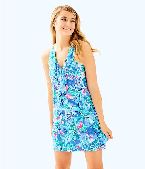 Shay Dress, Bennet Blue Celestial Seas, large