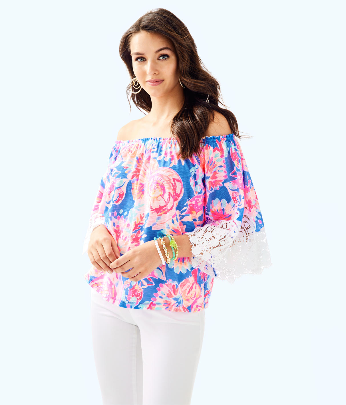 Lilly Pulitzer Lilly Pulitzer Womens Zaylee Top