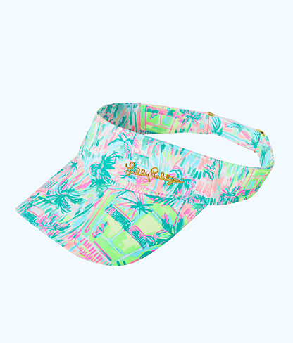 Its a Match Visor, Multi Perfect Match Hat, large
