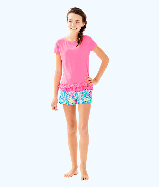 Girls Ceclie Short, Multi Mermaids Cove, large