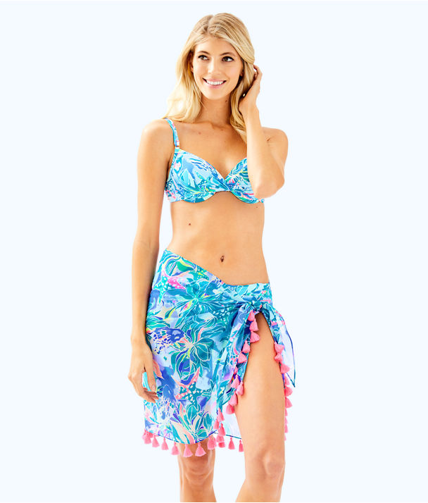 Tropic Sarong, Bennet Blue Celestial Seas, large