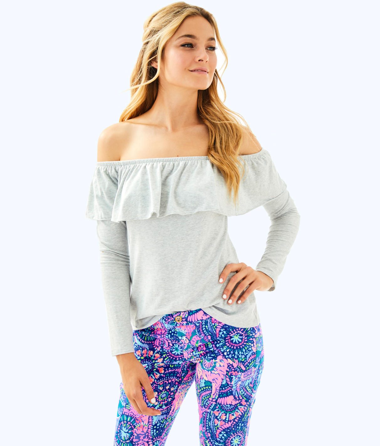 Lilly Pulitzer Lilly Pulitzer Womens Augustus Top