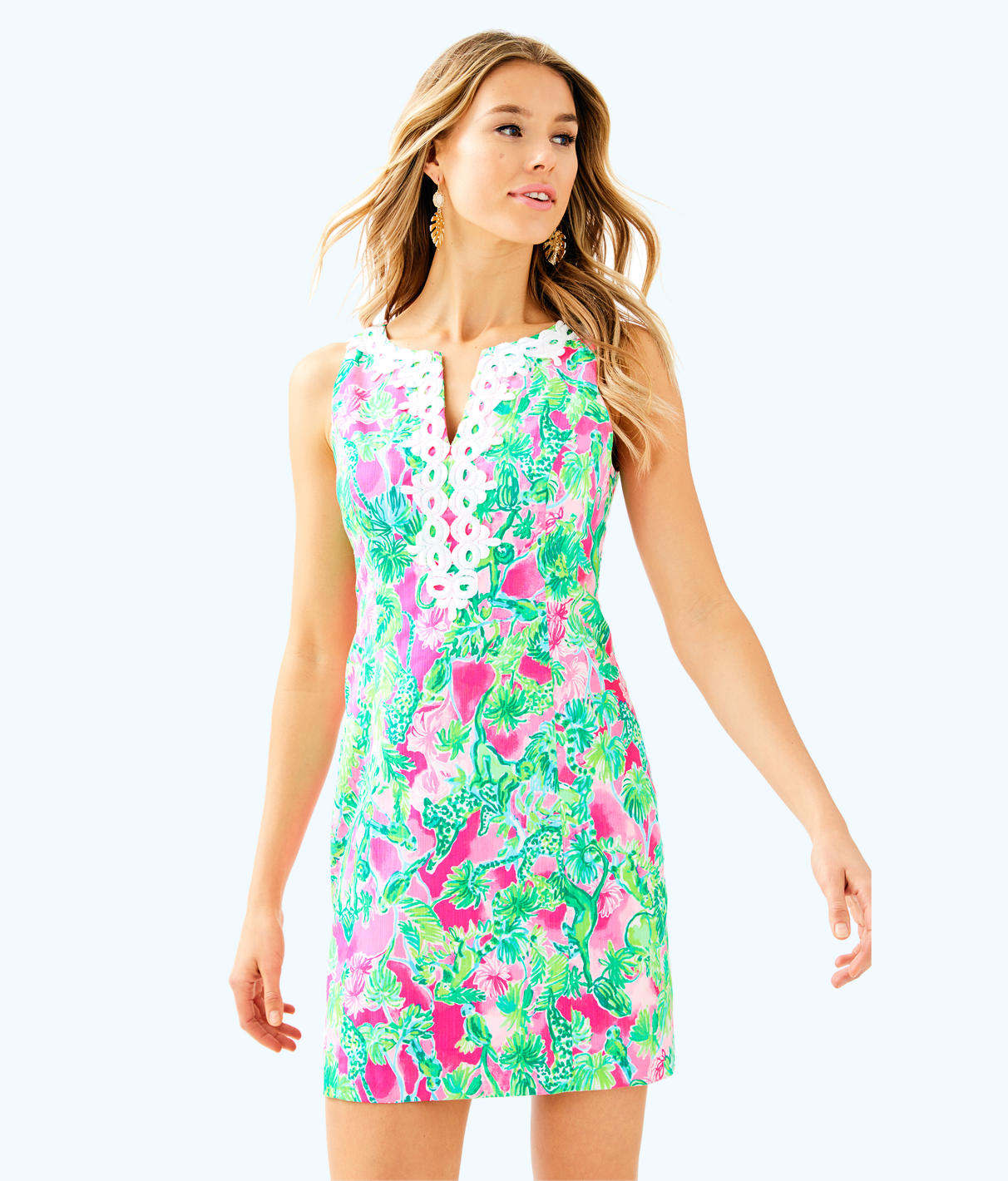 Lilly Pulitzer Lilly Pulitzer Womens Gabby Shift Dress