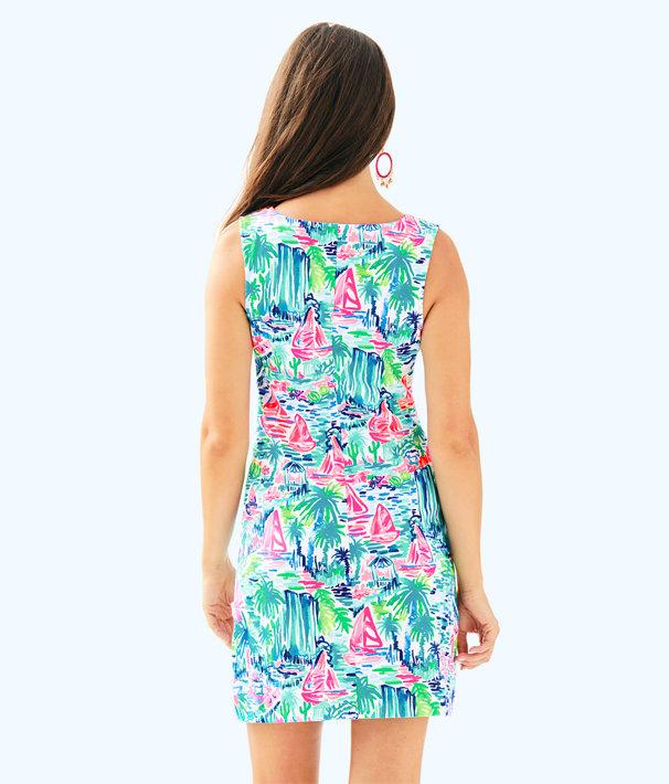 Harper Stretch Shift Dress, Multi Salt In The Air, large