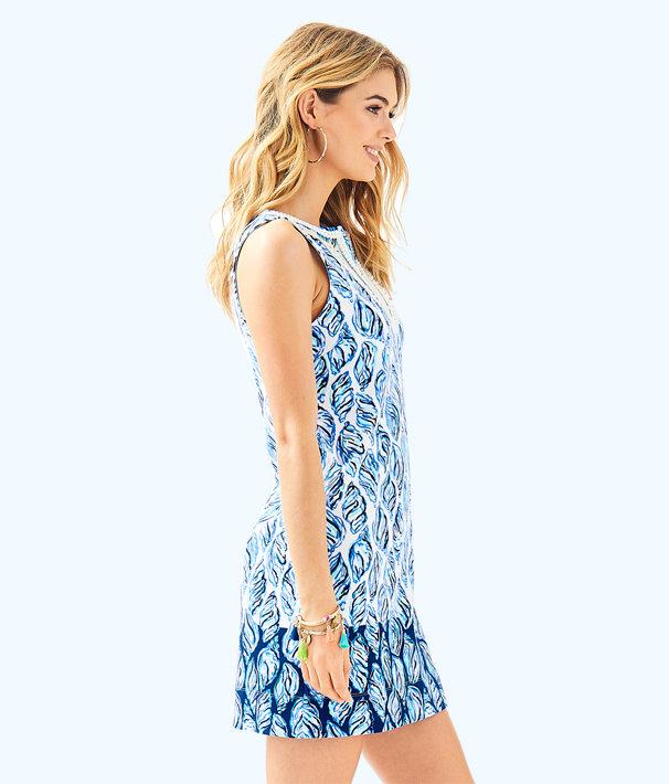 Harper Dress, Resort White Drop In Engineered Harper Shift, large