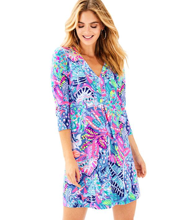 Long Sleeve Amina Dress, , large