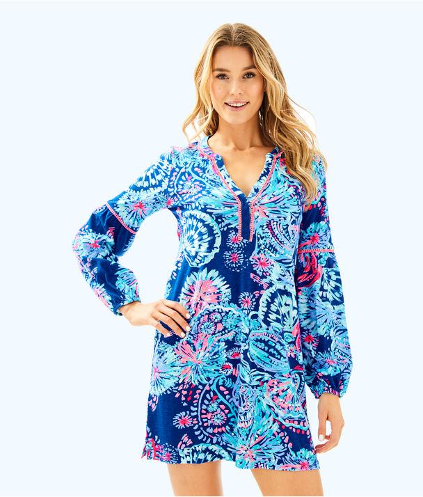 Joy Dress, Deep Indigo Gypsea Girl, large