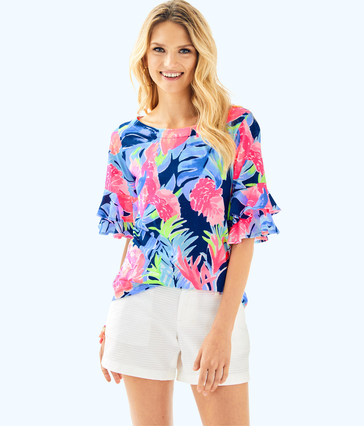 Lilly Pulitzer Lilly Pulitzer Womens Lula Top