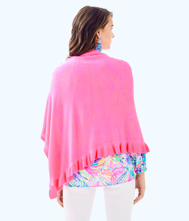 Valiente Wrap, Pink Sunset, large