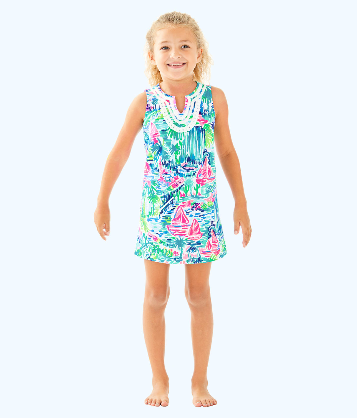 Lilly Pulitzer Lilly Pulitzer Girls Mini Harper Shift