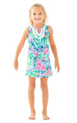 Girls Mini Harper Shift, Multi Salt In The Air, large