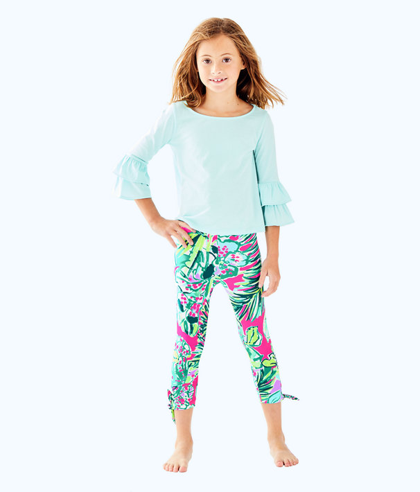 Girls Mazie Top, Seasalt Blue, large