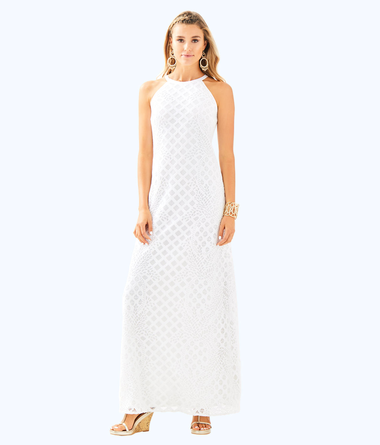 Lilly Pulitzer Lilly Pulitzer Womens Pearl Maxi Dress