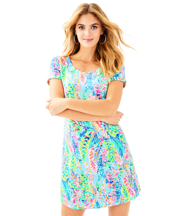 UPF 50+ Tammy Dress, Multi Catch The Wave, large
