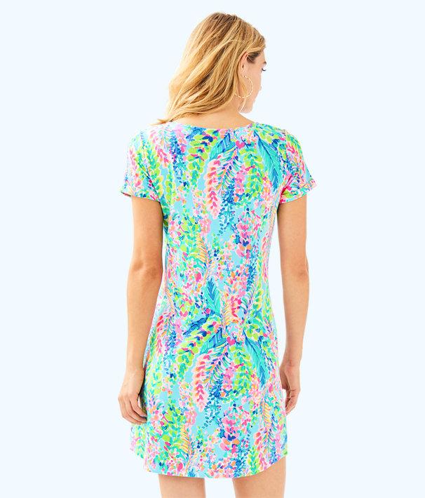 UPF 50+ Tammy Dress, Multi Catch The Wave, large