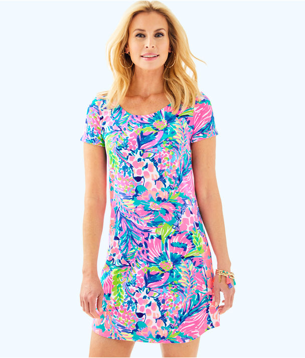 UPF 50+ Tammy Dress, Multi Gumbo Limbo, large