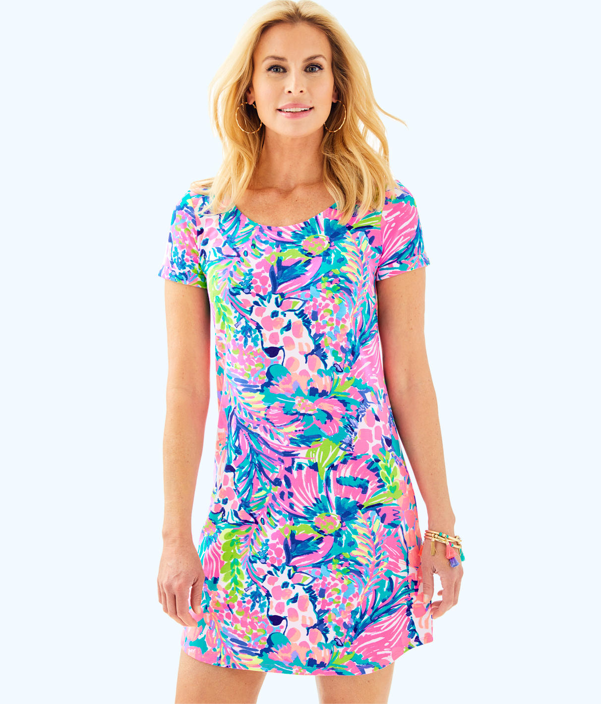 Lilly Pulitzer Lilly Pulitzer Womens UPF 50+ Tammy Dress