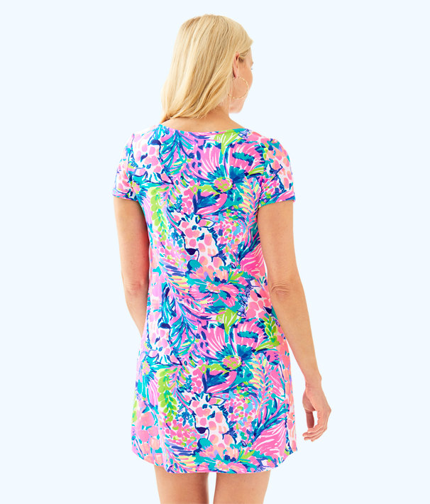 UPF 50+ Tammy Dress, Multi Gumbo Limbo, large