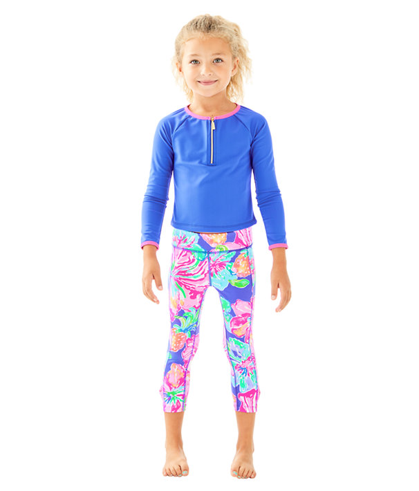 UPF 50+ Luxletic Girls Mini Sydney Sunguard, , large