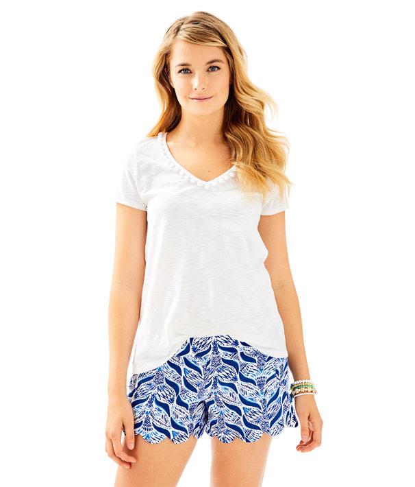 "4"" Dahlia Short, Resort White A Mermaids Tail, large"