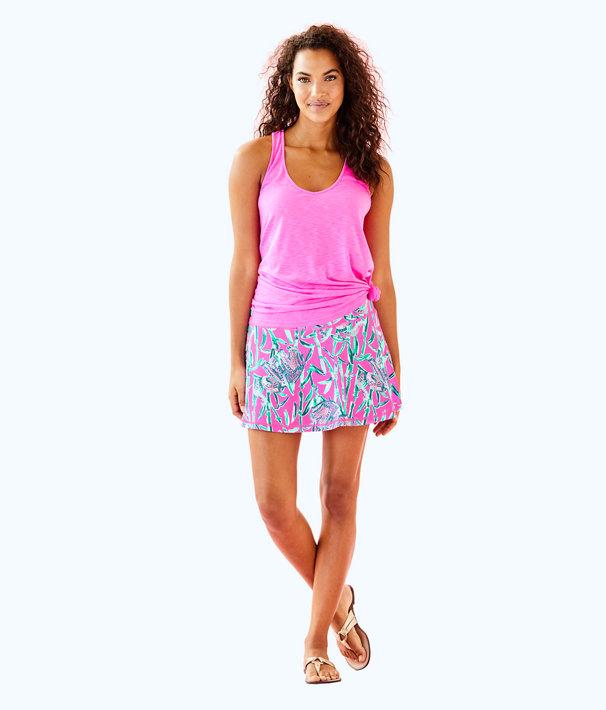 UPF 50+ Luxletic Aila Meryl Nylon Skort, Mandevilla Pink Extra Lucky, large
