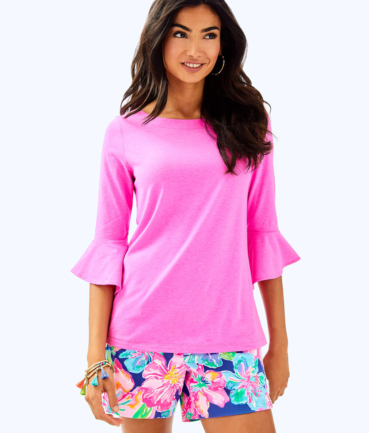 Lilly Pulitzer Lilly Pulitzer Womens Fontaine Top