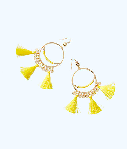 Surf Gypsea Earring, Lillys Lemon, large