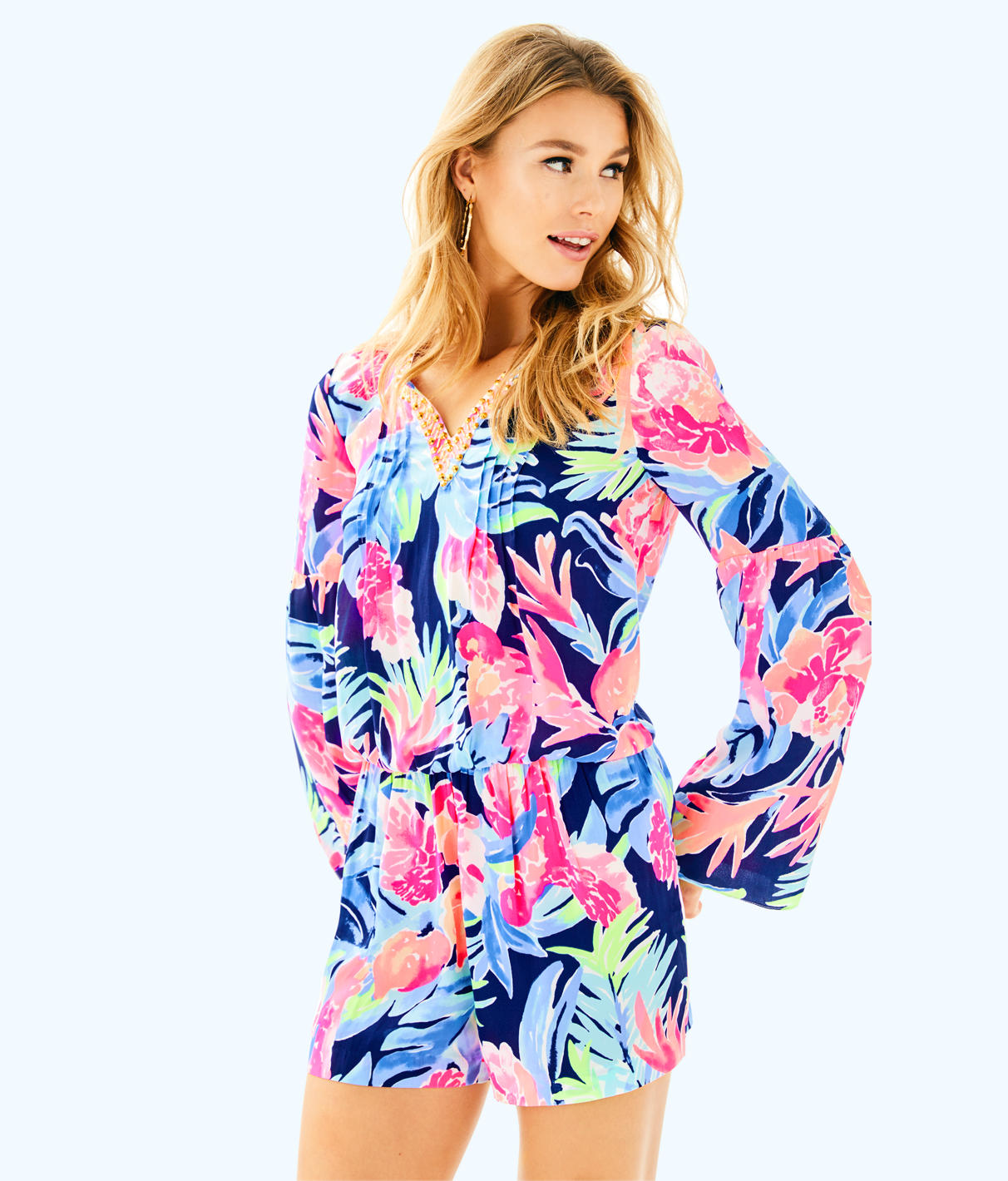 Lilly Pulitzer Lilly Pulitzer Womens Ariele Romper