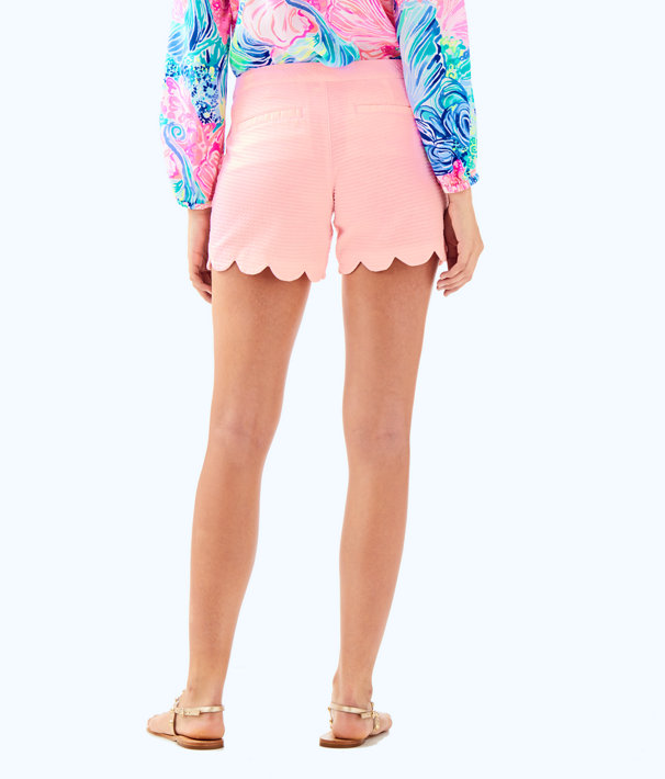"5"" Buttercup Stretch Short, Coral Reef Tint, large"