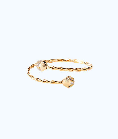 Celestial Seas Arm Cuff, Gold Metallic, large