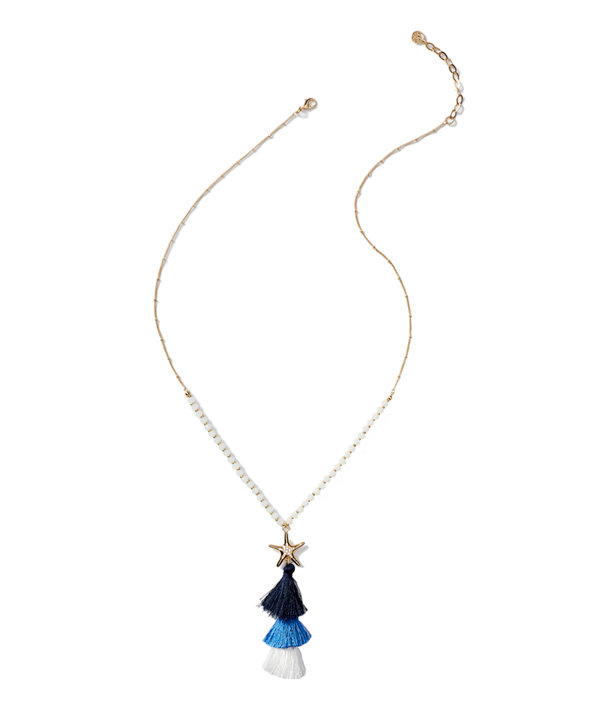 Starbright Necklace, Nauti Navy, large