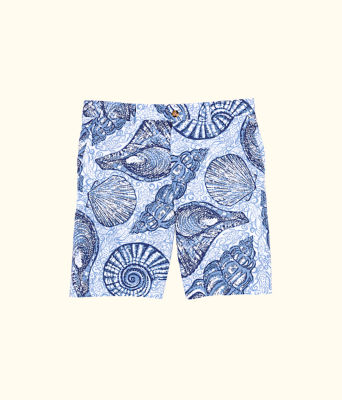 Mens Beaumont Short, Blue Peri Pop Up Stuffed Shells, large