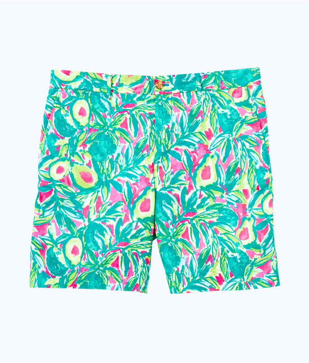 Mens Beaumont Short, Pink Sunset Guac And Roll, large