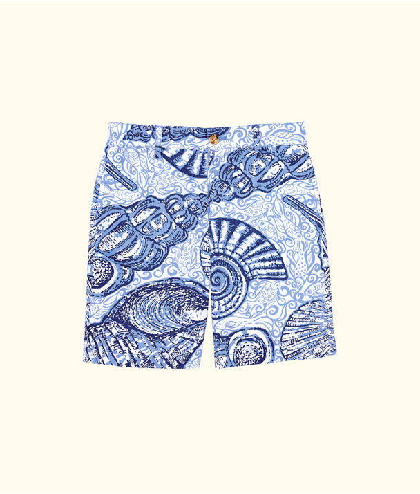 Boys Beaumont Shorts, Blue Peri Pop Up Stuffed Shells, large