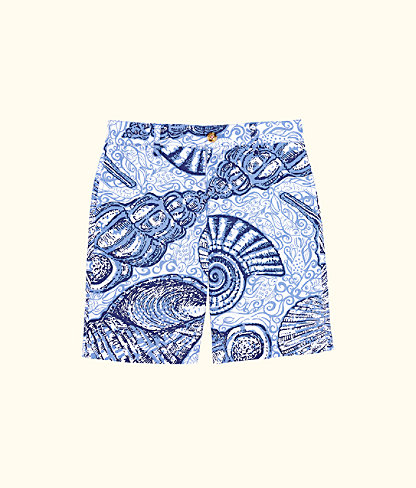 Boys Beaumont Shorts, Blue Peri Pop Up Stuffed Shells, large