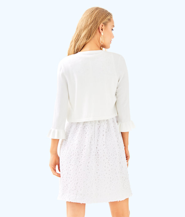 Davi Cardigan, Resort White, large