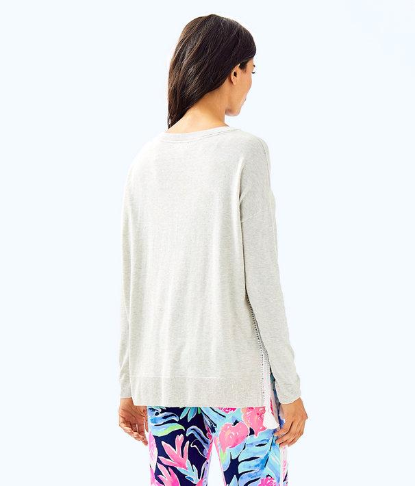 Damara Sweater, Heathered Pb Grey, large