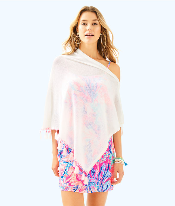 Elene Wrap, Resort White, large